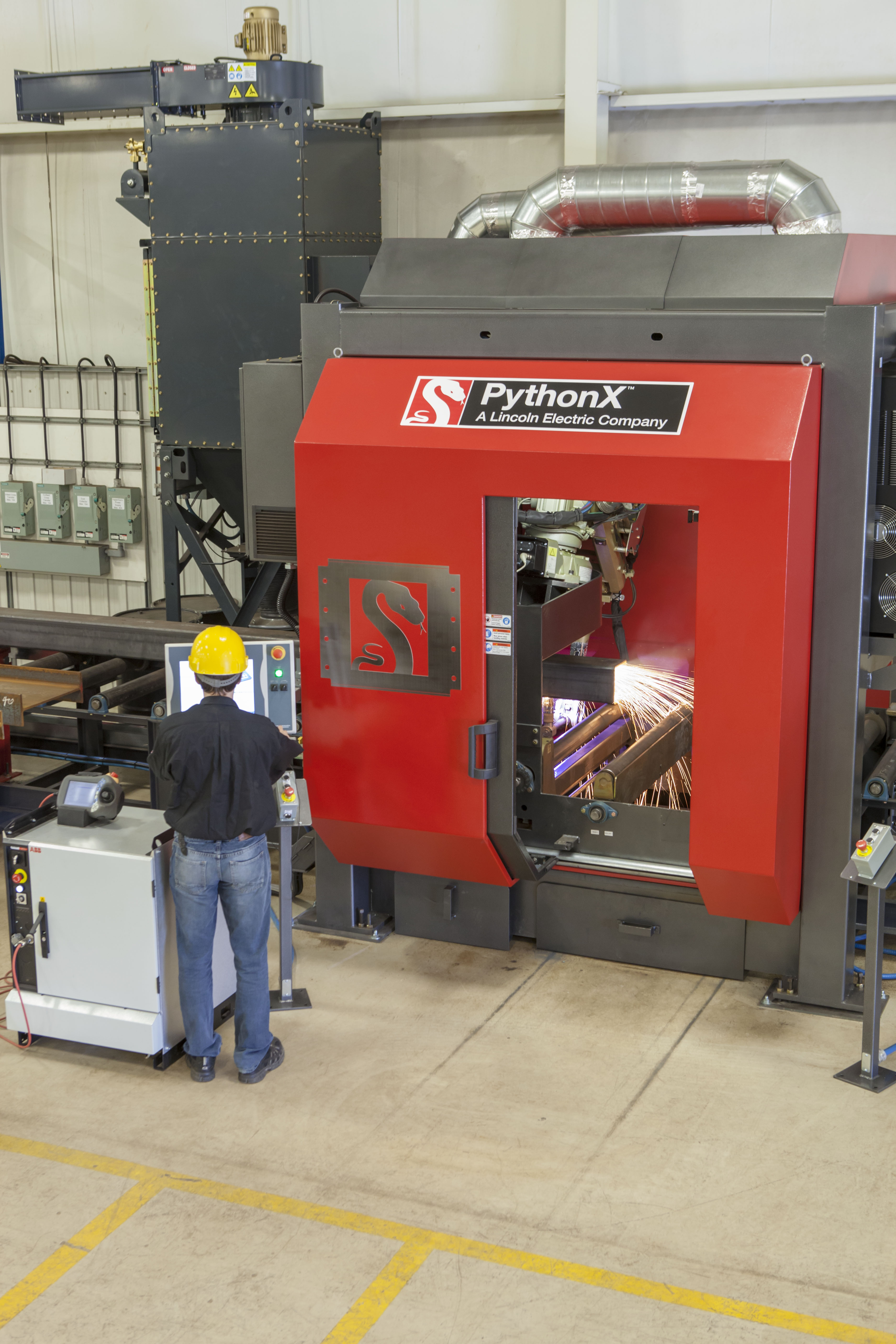 the leading CNC plasma cutting machine for structural steel